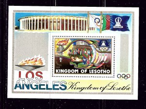 Lesotho MNH S/S 444 Los Angeles Summer Olympics 1984