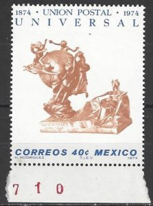 Mexico 1070  MNH  UPU Centenary