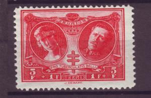 J21286 Jlstamps 1926 belgium hv of set mh #b63 king/queen
