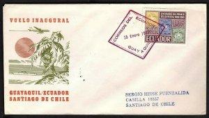 FFC (GUAYAQUIL ECUADOR TO SANTIAGO CHILE KB2023)