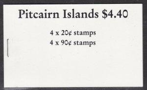 PITCAIRN ISLAND ^^^^^1990  RARER  MNH  BOOKLET   $34.00@sc113aa