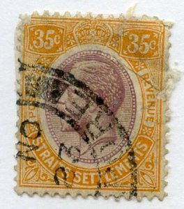 Straits Settlements, Scott #196, Used