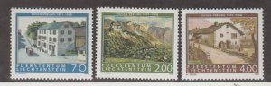 Liechtenstein Scott #1153-1154-1155 Stamps - Mint NH Set
