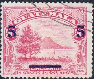 Guatemala 299b  Used