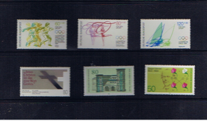 W GERMANY 1984 UNMOUNTED MINT
