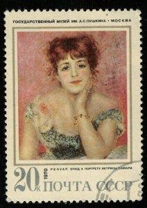 Renoir artist, 20 kop, 1970 (T-7437)