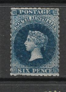 SOUTH AUSTRALIA 1868-79  6d   PRUSSIAN BLUE      QV  MLH    SG 73