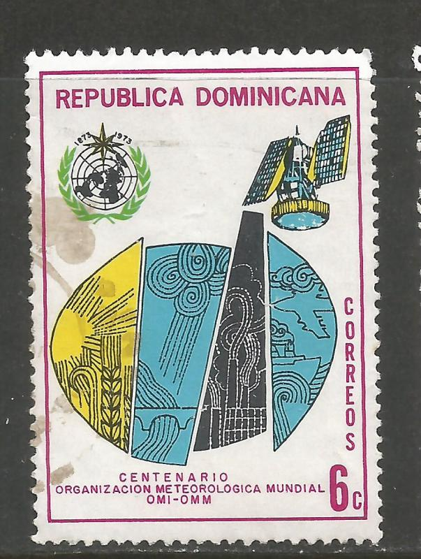 DOMINICAN REPUBLIC 711 VFU 860G-1