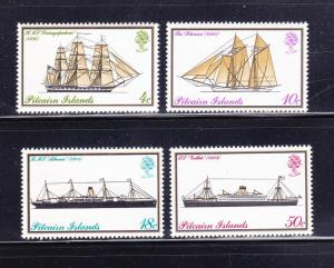 Pitcairn Islands 147-150 Set MNH Ships (A)