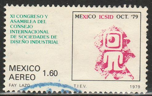 MEXICO C617, Industrial Design Congress USED. F-VF. (1347)