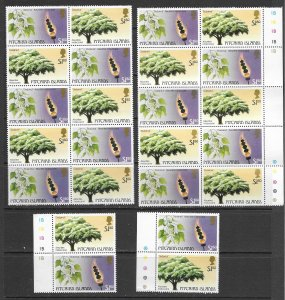 Pitcairn Is. 290 MNH stock x 12, clean and fresh, vf see desc. 2020 CV$72.00