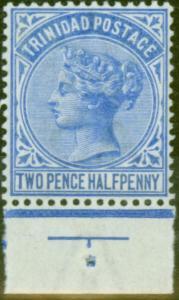 Trinidad 1883 2 1/2d Brt Blue SG108 Fine Mtd Mint