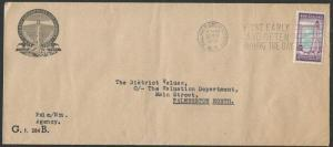 NEW ZEALAND 1960 Govt Life 3d Lighthouse on cover..........................58606