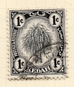 Kedah 1922-36 Early Issue Fine Used 1c.