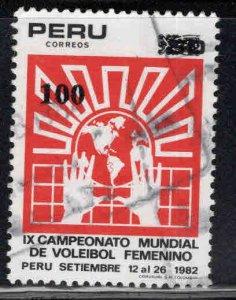 Peru  Scott 791 Used 1982 stamp