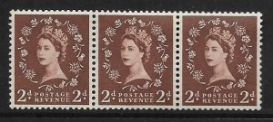 S37L 2d Wilding Edward Crown with variety - extra leg to R UNMOUNTED MINT