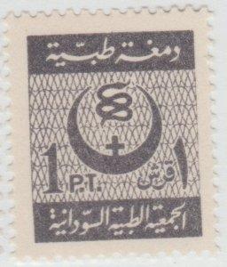 Egypt Seudan revenue fiscal Cinderella stamp 5-17-1 TNX