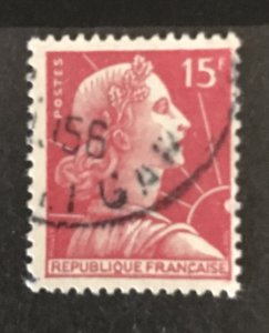 France 1955 #753, Used