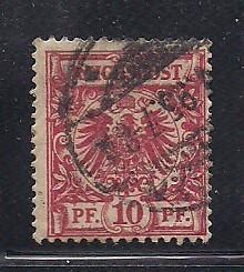 Germany Sc. # 48 Used Mi. #47 L1
