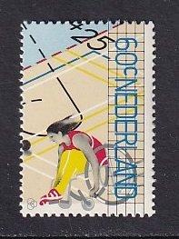 Netherlands   #B564   MNH  1980   wheelchair basketball