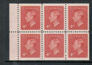 Canada #287b Very Fine+ Never Hinged Booklet Pane
