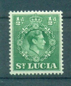 St. Lucia sc# 110 mh cat value $.25