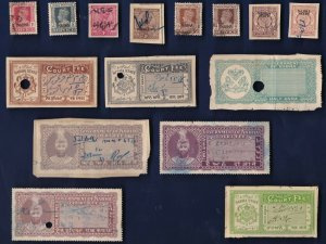 15 All Different NABHA (INDIAN STATE) Stamps