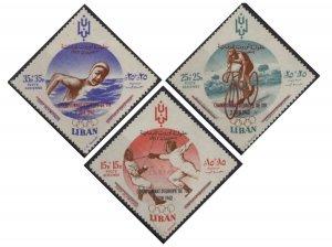 Lebanon CB12-CB14 (mh) Olympics (1961)