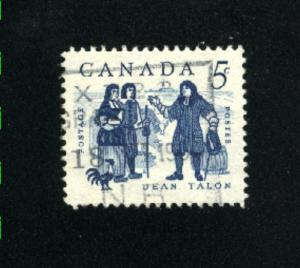Canada  398  -3 used VF PD 1962