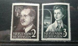 Liechtenstein #287-88 MNH e1912.6010