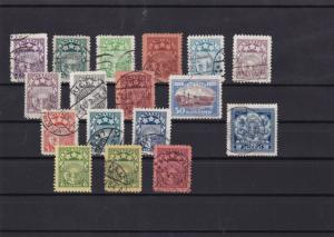 latvia 1929-1938 mm+used stamps ref 12575