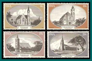 SWA Namibia 1978 Churches, MNH  419-422,SG319-SG322