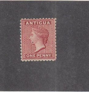 ANTIGUA (MK2614)  # 2  FVF-MNG SPOT 1d  QUEEN VICTORIA /DULL ROSE CAT VALUE $140