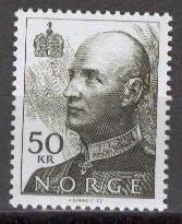 NORWAY 1992 Scott 1020 Top Value mnh  scv  $17.00 less 80%=$3.40