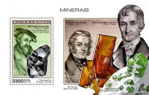 Z08 IMPERF GB181101b Guinea Bissau 2018 Minerals MNH ** Postfrisch