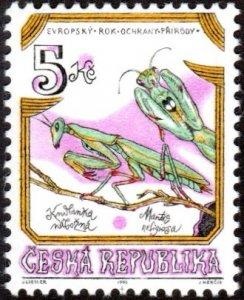 Czech Republic 2952 - Mint-H - 5k Praying Mantis (1995) (cv $0.70)