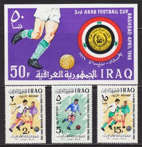 Iraq Scott 403-06 complete set F to VF mint OG H.