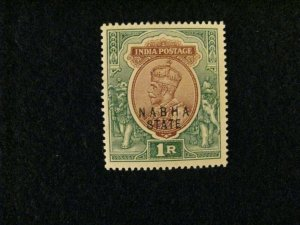 India-Nabha #49 mint hinged  a209 1208