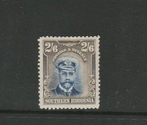 Southern Rhodesia 1924/9 Admiral 2/6 MM SG 13