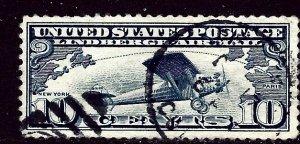 U.S. C10 Used 1927 issue    (ap4281)