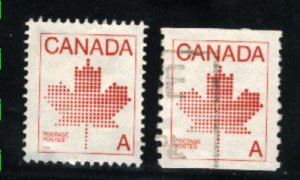 Can #907-08   -2  used VF 1981 PD