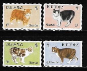 Isle of Man 1989 Manx Cats MNH A351