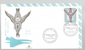 Vatican, C59, Seraph Kim Cover First Day Cover (FDC), Used