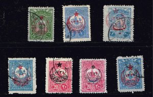 TURKEY STAMP COLLECTION LOT  #J3T8