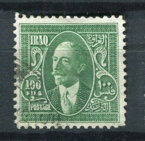 IRAQ; 1932 early Faisal issue fine used 100f. value