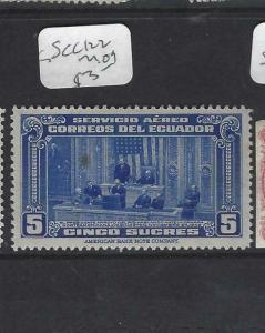 ECUADOR (P1702B)  A/M   SC C122   MOG