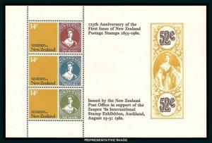 New Zealand Scott 703a Mint never hinged.