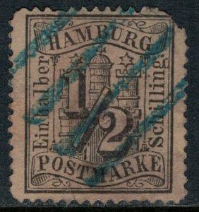 Hamburg #13  defects  CV $12.00
