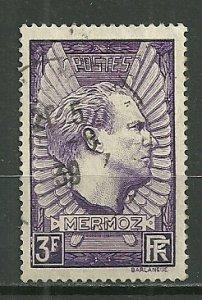 1937 France 326  Memorial of Jean Mermoz used