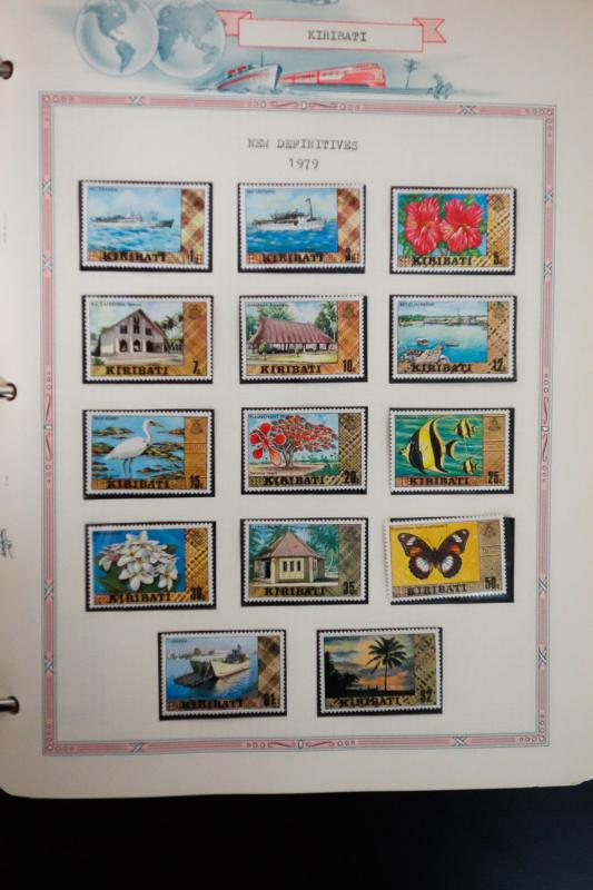Kiribati Specialty 1970s and 1980s Stamp Collection